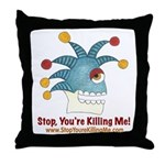 SYKM Throw Pillow