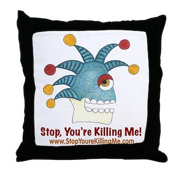 SYKM Throw Pillow