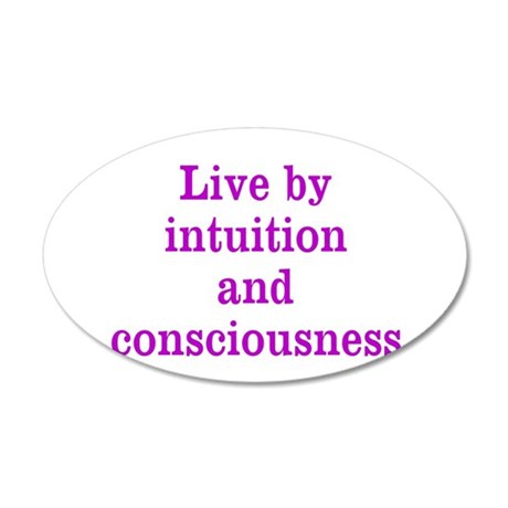 Intuition Consciousness Wall Decal