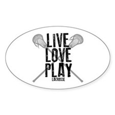 Live, Love, Play Lacrosse Decal