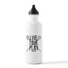 Live, Love, Play Lacrosse Water Bottle