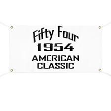 1954, 60th Birthday Banner