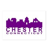 Chester Connecticut Postcards (Package of 8)