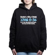Break Every Chain Design Hooded Sweatshirt