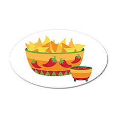 Tortilla chips salsa Wall Decal