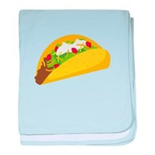 Taco baby blanket