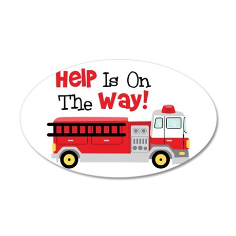 Help Is On The Way! Wall Decal