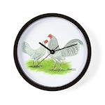 Pearl OE Bantams Wall Clock