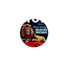 Lion Vintage  Mini Button