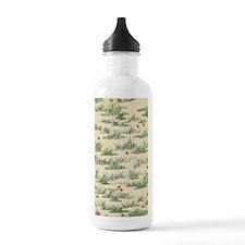 Vintage Green Grass Water Bottle