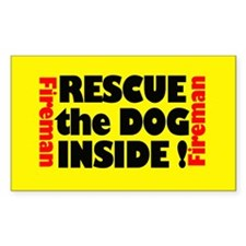 Rescue The Dog Inside Decal
