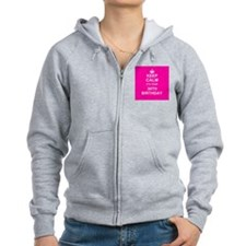Keep Calm its your 30th Birthday Zip Hoody
