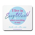 Horizonal Easy World Mousepad