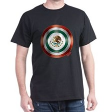 Mexican Flag Shield T-Shirt