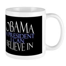 Cute I voted for obama Mug