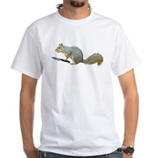 Squirrel with Knife T-Shirt