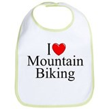 &quot;I Love (Heart) Mountain Biking&quot; Bib