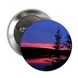Great Slave Lake Sunset Button