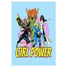 Marvel Girl Power Wall Art