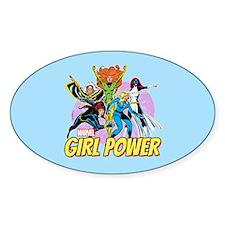 Marvel Girl Power Decal