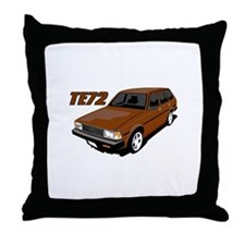 Cute Drifting Throw Pillow