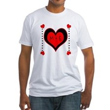 Cascading Hearts Monogram T-Shirt