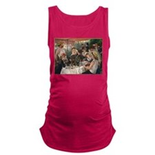 Luncheon of the Boating Party Maternity Tank Top
