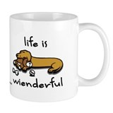 Life Is Wienderful  Mug