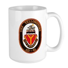 USS YELLOWSTONE Mugs