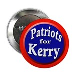 Patriots for Kerry Pinback Button