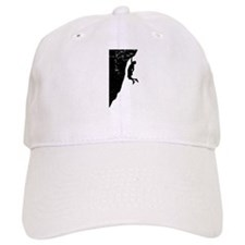 Rock Climber Cliff Hanger Baseball Cap