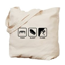 Feed Sleep Climb Tote Bag