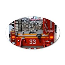 Red Fire Engine: Hoses Wall Decal