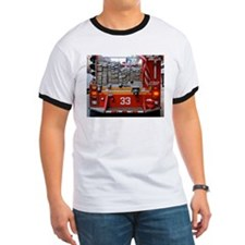 Red Fire Engine: Hoses T-Shirt