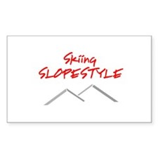 Skiing Slopestyle Decal