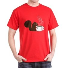 Coffee Squirrel T-Shirt