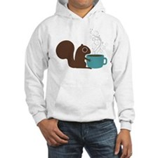 Coffee Squirrel Hoodie