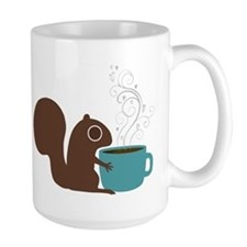 Coffee Squirrel Coffee Mug