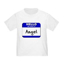 hello my name is angel T