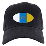 Canary Islands flag Baseball Hat