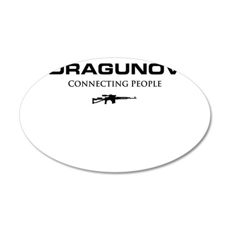 DRAGUNOV (connecting people).png Wall Decal