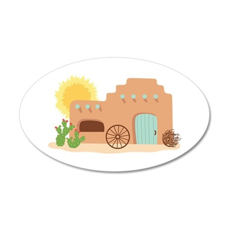 Adobe House Desert Wall Decal