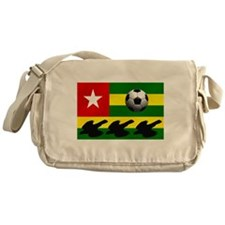Togo Football Flag Messenger Bag