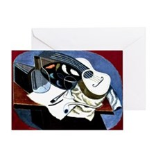 Gris - Painter's Table; Juan Gris ar Greeting Card