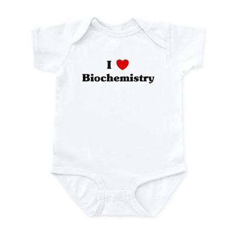 I Love Biochemistry Infant Bodysuit