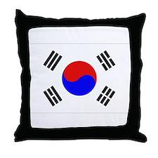 Korean Flag Throw Pillow