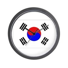 Korean Flag Wall Clock