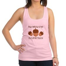 My Family Tree Is Full Of Nuts Racerback Tank Top