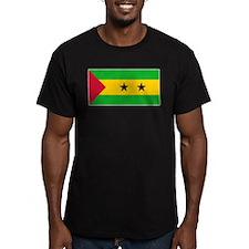 Sao Tome Principe Flag T