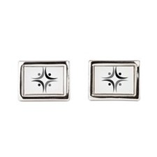 Amici Mono Rectangle Cufflinks